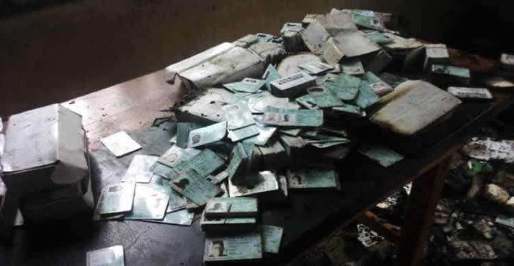 Image result for All Burnt PVCs In Abia, Plateau To Be Reprinted Before Elections – INEC