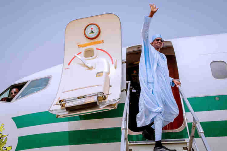 "Buhari to embark on a ""private visit"" to the UK on Thursday"