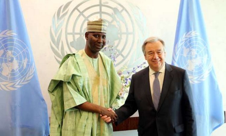Nigerian professor, Muhammad-Bande, appointed president of UN General Assembly