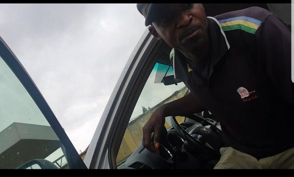 Police extort man