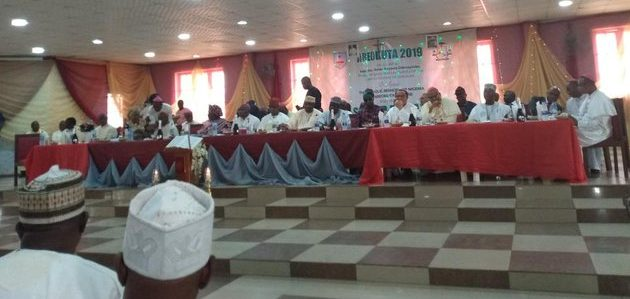 The Catholic Bishops' Conference of Nigeria (CBCN), holding it's second plenary meeting in Ogun State. Photo credit: Twiitter user ─@DuruIsaac