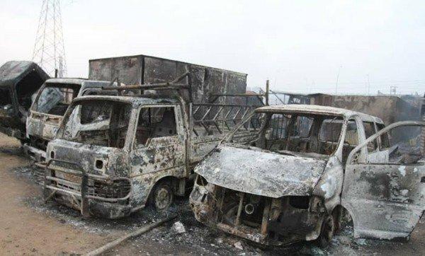 Lagos Pipeline Explosion