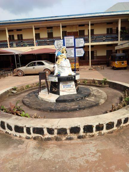 Hospital where Chigozie was born