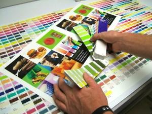 Color Management Color Chart matching Pantone Colors