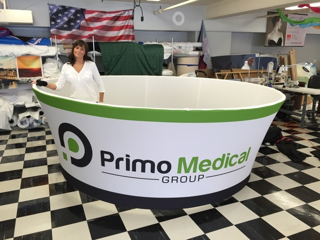 Primo Medical Halo Fabric to explain Fabric Graphic Specs