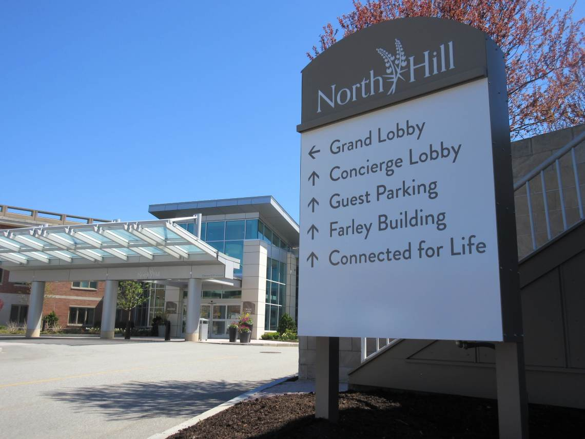North Hill Outdoor Sign by ICL Imaging
