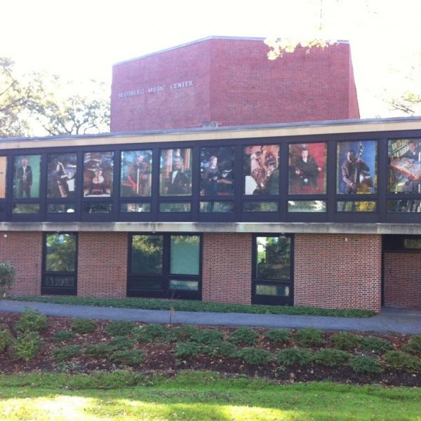 Brandeis Window Graphics Printed by ICL Imaging