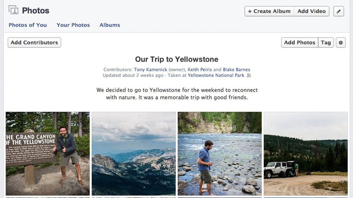 Facebook Gets Shared Photo Albums
