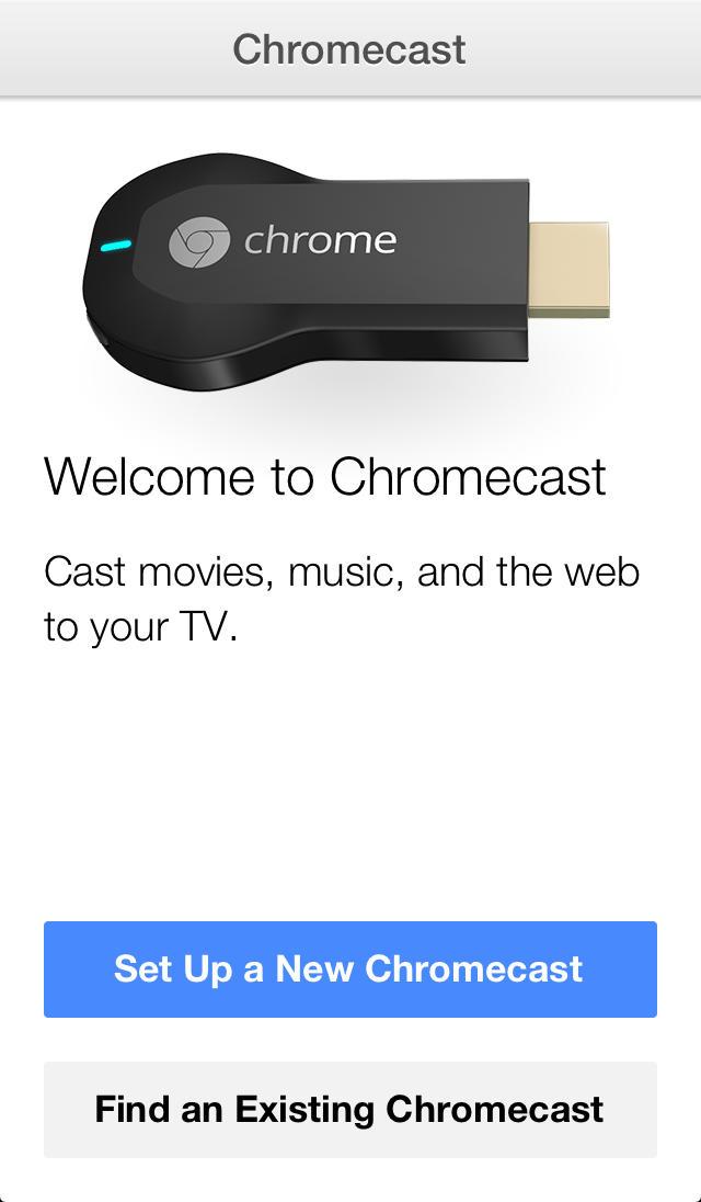 Google Releases Chromecast App for iOS Letting You Setup and Manage Your Chromecast