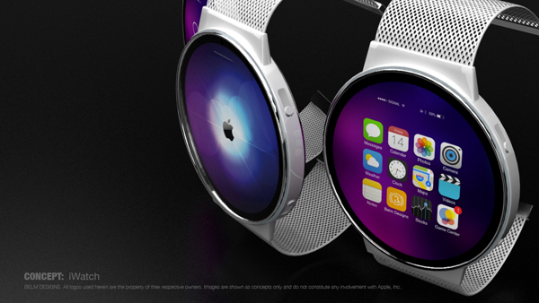 New Circular Iwatch Concept With Mag Twist Lock Clasp