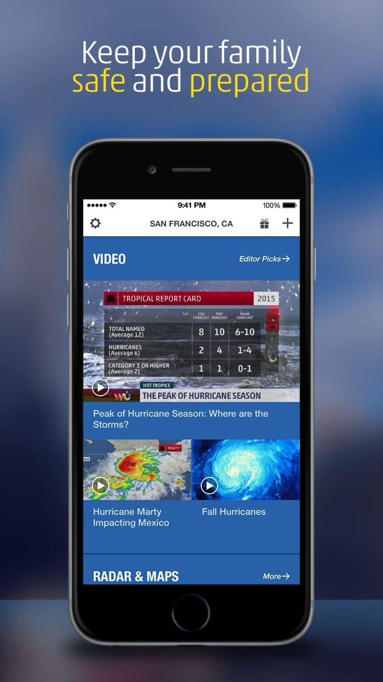 The Weather Channel App Gets Dynamic Home Screen  Morning Show  15         The Weather Channel App Gets Dynamic Home Screen  Morning Show  15 Day  Forecasts
