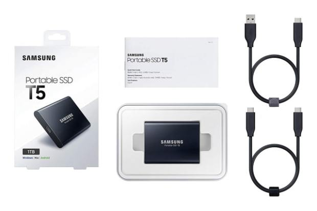 Samsung T5 1TB Portable SSD Drops to All Time Low Price [Deal]