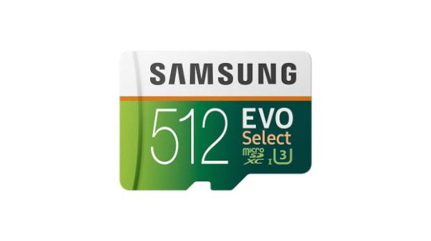 Samsung 512GB Evo Select MicroSD Card On Sale for $99.99, Its Lowest Price Ever [Deal]