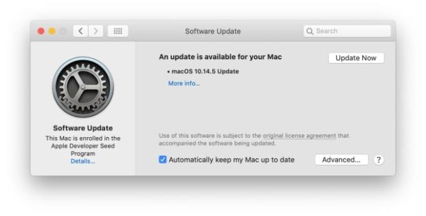 Apple Releases macOS Mojave 10.14.5 [Download]