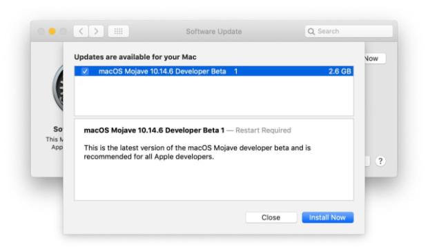 Apple Releases macOS Mojave 10.14.6 Beta [Download]