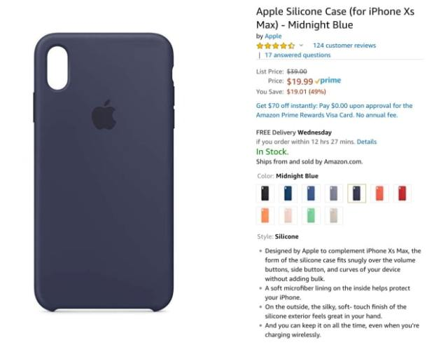Apple's Official iPhone XS Cases Are On Sale for Up to 53% Off [Deal]