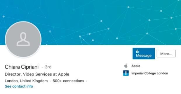 Apple Hires Disney+ VP Chiara Cipriani