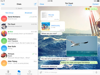 Telegram Messenger Gets Location-Based Chats, Ability to Transfer Group Chats, More
