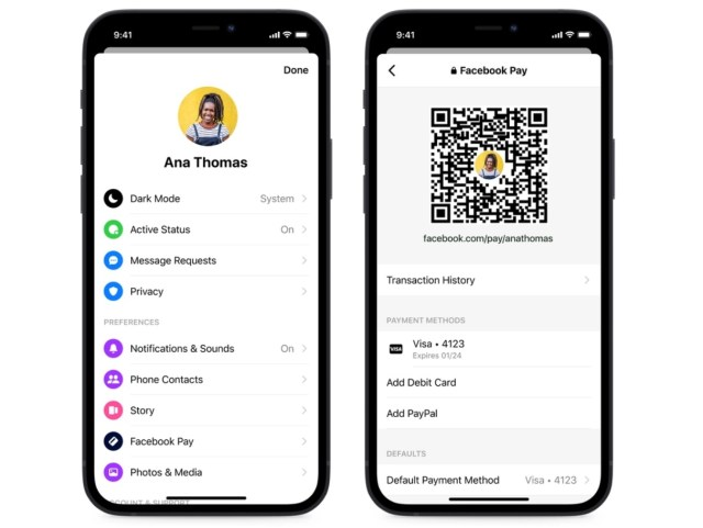 Facebook Messenger Gets New Chat Themes, Quick Reply Bar, QR Codes and Payment Links