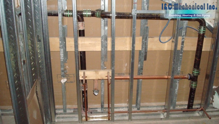 Commercial Plumbing Contractors Near Me - I&C Mechanical - Boston, MA