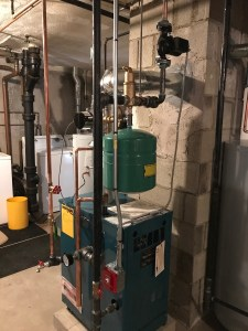 Residential gas boiler installation - Boston Plumber