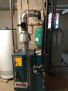 Residential gas boiler installation - Boston Plumbing