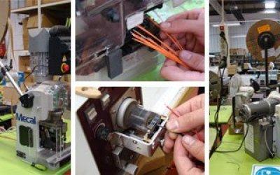 Máquinas semiautomáticas de engaste de cables