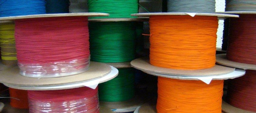 bobinas de cables