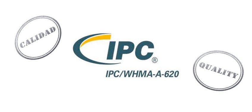 Certificación IP/WHMA-A-620, calidad cableado industrial a medida