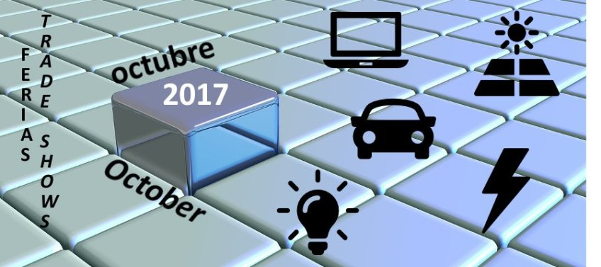 Ferias en octubre en sectores de aplicación del cableado de ICM