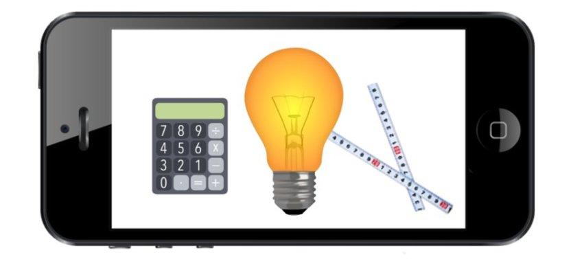 Aplicaciones para cálculo de iluminación desde el móvil
