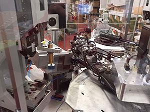 Maquinaria para la automatización de la fabricación de cableado a medida industrial