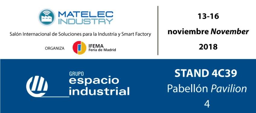 Participación de ICM en Matelec Industry 2018