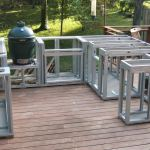 Outdoor Kitchen Deck Plans Icmt Set Having The Outdoor Kitchens Plans