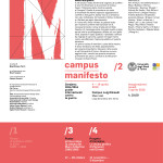 campus manifesto / 2 - invito digitale