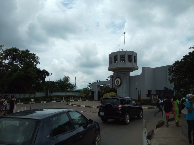 At the Gates of University of Ibadan