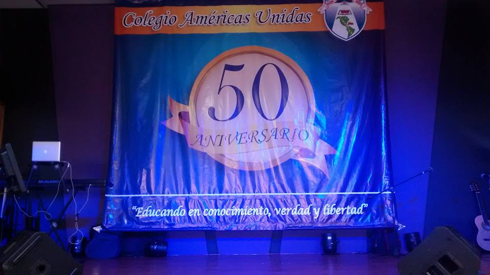 Colegio Americas Unidas 50th Anniversary