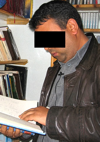 This Christian man faces charges in Algeria for transporting Bibles and other Christian books.