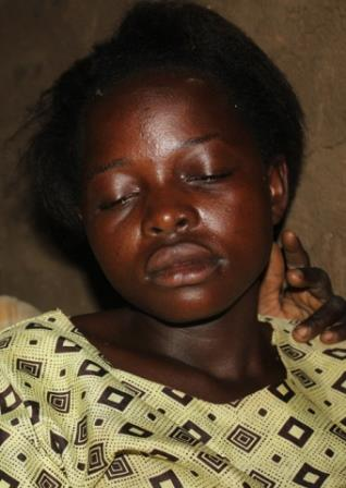 Namusisi Birye, from Uganda, was beaten by her father and mother for choosing Christ and leaving her Muslim faith.