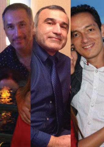 Azerbaijani Christians Eldar Gubanov, Yusif Farhadov and Bahram Nasibov have been held without charge in Iran since their June 24 arrest at an engagement party.