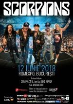 Concert Scorpions la Romexpo din Bucureşti