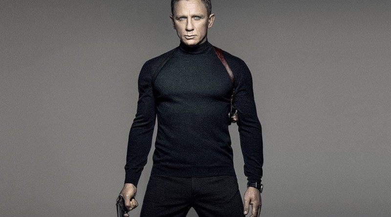 James Bond SPECTRE teaser poster Neil Barrett trousers