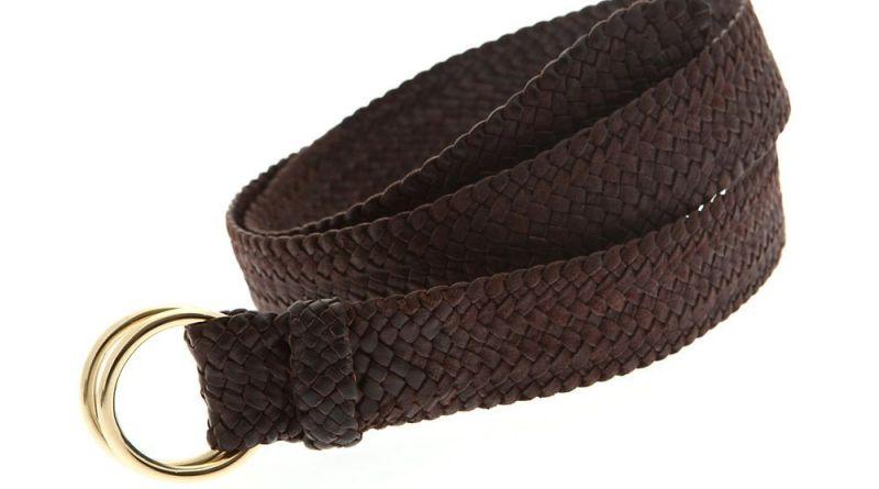 RM Williams Plaited Leather Belt Daniel Craig