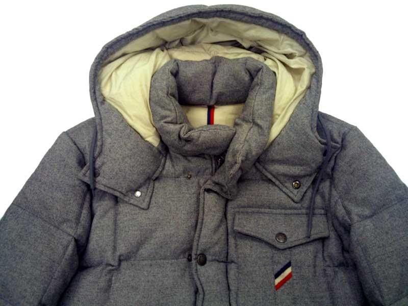 moncler cezanne down jacket grey