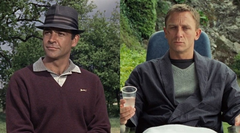 affordable alternatives james bond v-neck sweaters