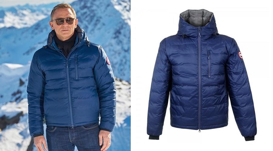 canada goose jacket daniel craig
