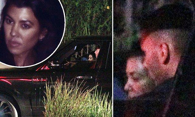 Kourtney Kardashian and Younes Bendjima Back Together After Very Public Breakup image