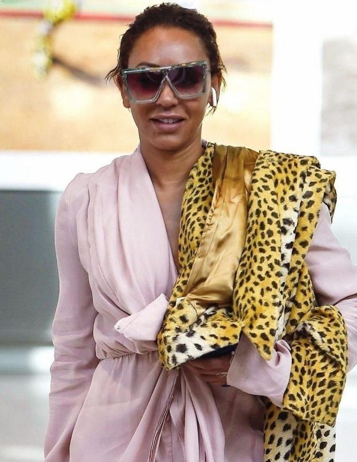 Mel B Arrives at Heathrow Airport After Messy Divorce Scandal! image