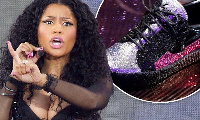 Nicki Minaj Slams racist Italian Designer Giuseppe Zanotti! image