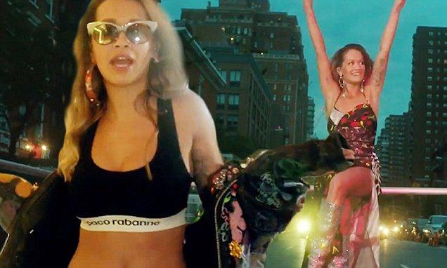 Rita Ora Dances in Bra in Music Video for ANYWHERE! image